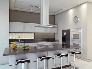 minimalistic Kitchen by EL arquitectos