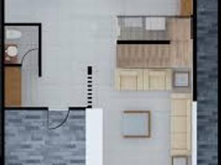 Modern houses by ERIKA LIN Modern Concrete