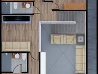Modern houses by ERIKA LIN Modern Wood Wood effect