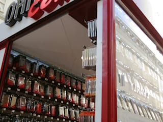 el interior Commercial Spaces Aluminium/Zinc Red