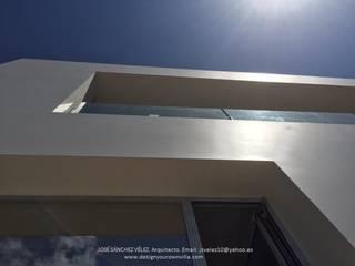 Acabado liso brillante. de DYOV STUDIO Arquitectura, Concepto Passivhaus Mediterraneo 653 77 38 06 Mediterráneo Arenisca