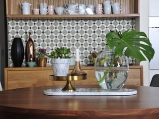 現代廚房設計點子、靈感&圖片 根據 JOANNA KIRYŁOWICZ 現代風