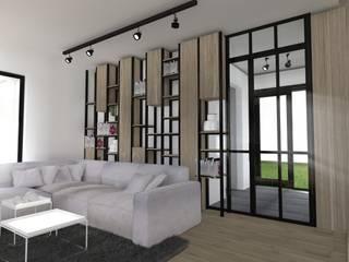 Dom na warszawskim  Wilanowie: styl , w kategorii  zaprojektowany przez Base Architekci