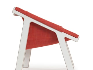 Pii lounge chair:  in stile  di Design  Ari Kanerva - Studio arka