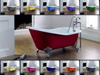 Freistehende Retro Badewanne aus Gußeisen - so liebt es der Purist von Antikbad Klassisch