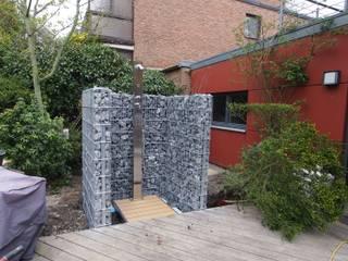 Vườn phong cách hiện đại bởi Hesselbach GmbH Hiện đại Sắt / thép