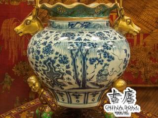 Китайские вазы, фарфоровые, бронзовые, керамические Интернет-магазин предметов интерьера 'CHINADOM' Произведения искусстваХудожественные изделия Фарфор Многоцветный