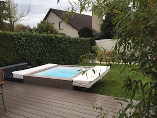 Hesselbach GmbH Hot Tubs Plastic Brown