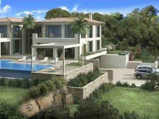 Minimalist house by ABAD Y COTONER, S.L. Minimalist