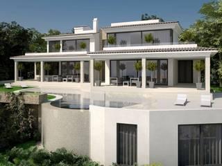 ABAD Y COTONER, S.L. minimalist style balcony, porch & terrace