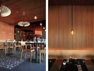 Comedores de estilo moderno de Tralhão Design Center Moderno
