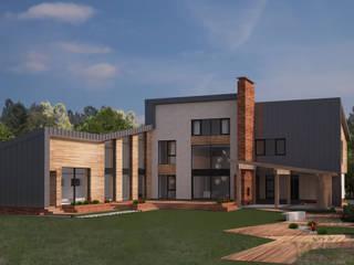 Частный жилой дом Xo-house Дома в скандинавском стиле от Skyline Architect Скандинавский