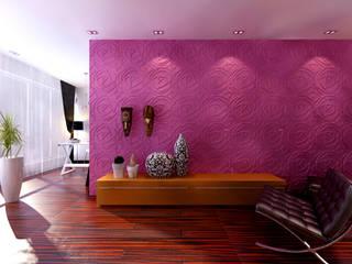 de A EXCLUSIVA - Sustainable Buildings Materials Moderno Fibra natural Beige