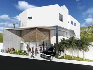 Locaux commerciaux & Magasins de style  par Elo´s Arquitetura & Associados, Minimaliste