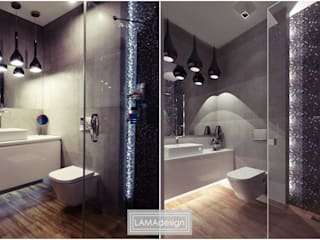 Bathroom by LAMAdesign Magdalena Lasko
