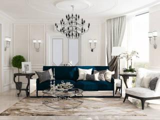 classic Living room by Студия дизайна Дарьи Одарюк