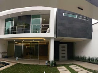 Moderne balkons, veranda's en terrassen van Global Render Modern