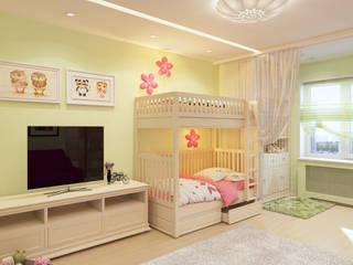 Визуализация Комнаты для Маргариты Детская комната в стиле модерн от Alyona Musina Модерн