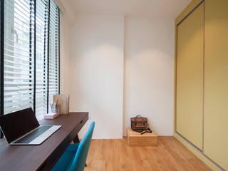 Oficinas de estilo escandinavo de Eightytwo Pte Ltd Escandinavo