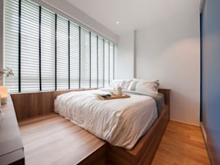 Scandinavian style bedroom by Eightytwo Pte Ltd Scandinavian