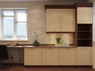 Визуализации Кухни и 2-х ванных комнат. Кухня в стиле минимализм от Alyona Musina Минимализм