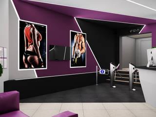 Визуализации вестибюля для FitnessPlaza_01 от Alyona Musina Минимализм