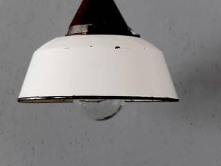 Vintage industrial lamp / factory light:   von works berlin