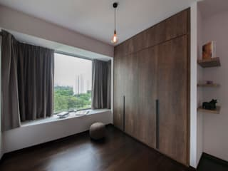 THE BELVEDERE Eclectic style dressing room by Eightytwo Pte Ltd Eclectic