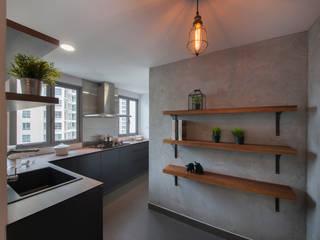 Cocinas de estilo ecléctico de Eightytwo Pte Ltd Ecléctico