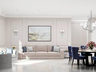 Livings de estilo clásico de GM-interior Clásico