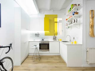Scandinavian style kitchen by Egue y Seta Scandinavian