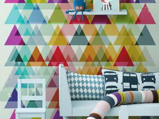 Triangles Pixers Nursery/kid's room