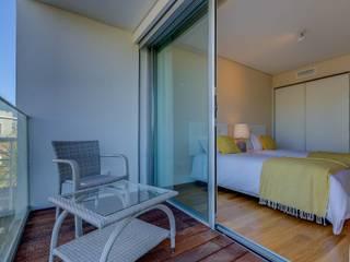 Staging Factory Balconies, verandas & terraces Furniture Metal Grey