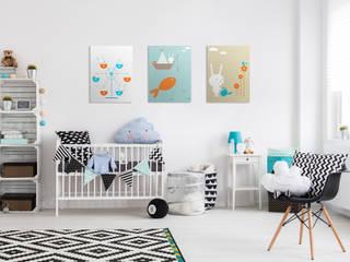 Ferris Wheel Pixers Dormitorios infantiles de estilo escandinavo