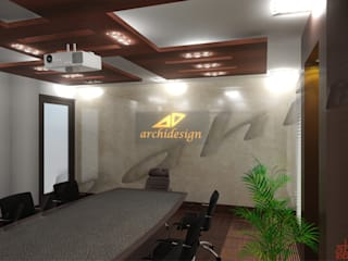 Commercial Projects by Abahir Interiors Modern