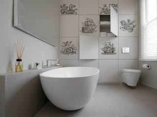 Sailing Ships Modern bathroom by Pixers Modern