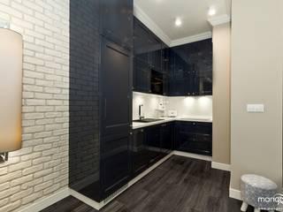 RAKOWICKA - apartament na krótkoterminowy wynajem Klasyczna kuchnia od MANGO STUDIO Klasyczny