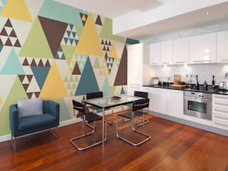 Geometry: modern Kitchen by Pixers