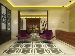 Ofis 352 Mimarlık Hizmetleri Pasillos, vestíbulos y escaleras modernos