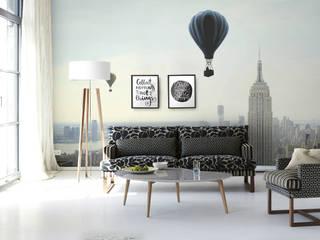 Air Ballon Scandinavian style living room by homify Scandinavian