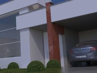 Casa M&E Casas modernas por A&B Arquitetura Moderno