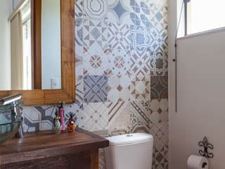 Bathroom by SCALI & MENDES ARQUITETURA SUSTENTAVEL