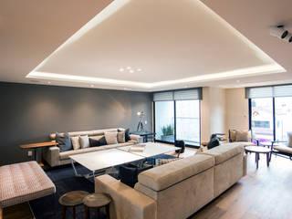Wohnzimmer von Sobrado + Ugalde Arquitectos
