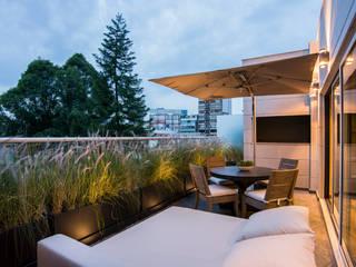 Terrasse von Sobrado + Ugalde Arquitectos, Modern