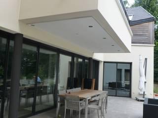 Archionline Modern balcony, veranda & terrace