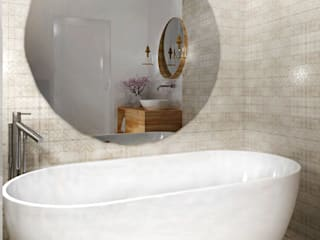 Bathroom by ZAZA studio