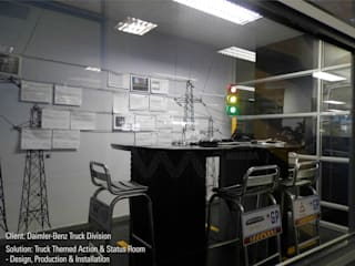 Daimler-Benz Action Room_RED ZONE:   by MNDSA Environmental,