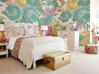Shabby Chic:  Bedroom by Pixers