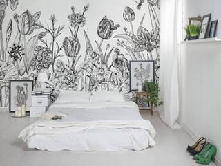 Spring Flowers Rustic style bedroom by Pixers Rustic