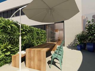 Office Interior Modern study/office by Studio Sohaib Modern